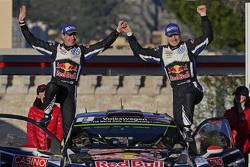 Second place Jari-Matti Latvala and Miikka Anttila, Volkswagen Polo WRC, Volkswagen Motorsport