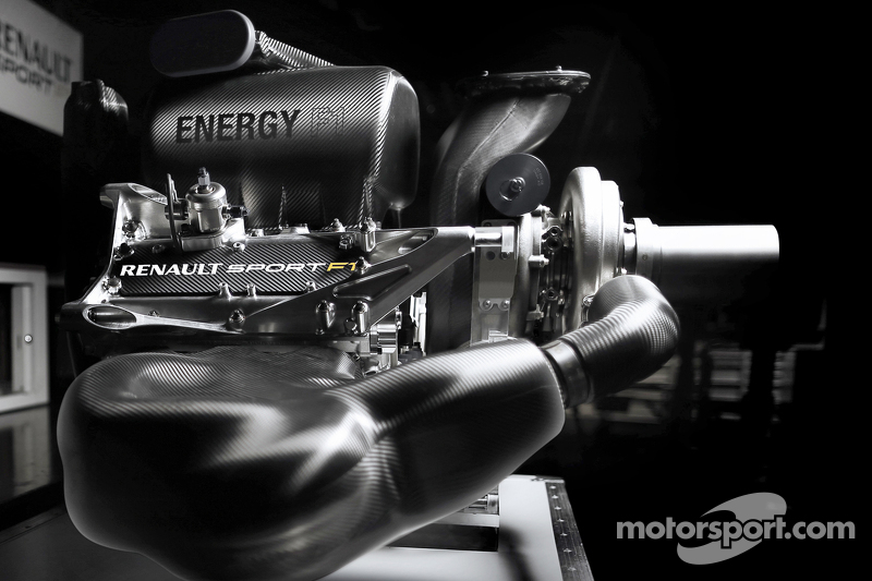 The 2015 Renault Energy F1 Engine At Renault F1 Reveals