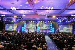 A general view of the 2015 NASCAR Hall of Fame Induction