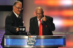 Franklin Scott and Wendell Scott Jr., sons of NASCAR Hall of Famer Wendell Scott