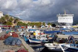 Ajaccio harbor