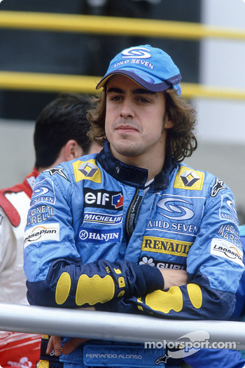 Drivers parade: Fernando Alonso
