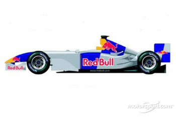 Red Bull Racing interim test livery
