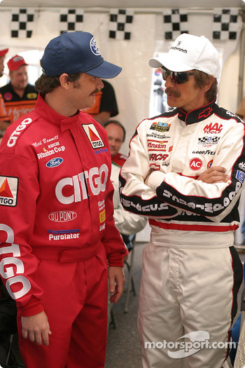 Neil Bonnet played by Shaun Bridgers with Dale Earnhardt (Barry Pepper)
