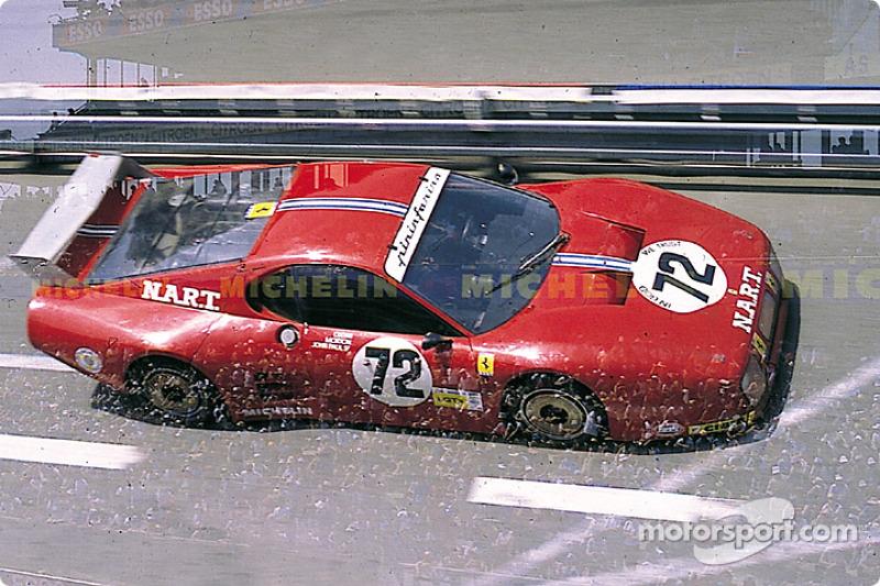 #72 North American Racing Ferrari 512 BB: Alain Cudini, John Morton, John Paul Jr.