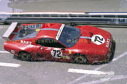 #72 North American Racing Ferrari 512 BB: Alain Cudini, John Morton, John Paul Jr.
