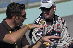 Max Papis and Jimmie Johnson
