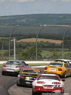 #55 J Pauley Motorsports Toyota Supra: Ron Pawley, Brian Peele