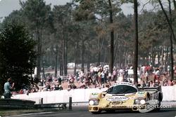 #7 Joest Racing Porsche 956: Henri Pescarolo, Klaus Ludwig