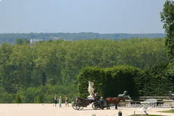Visit of the Château de Versailles: a lovely view