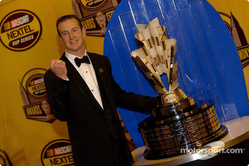 Kurt Busch is proud of his 2004 NEXTEL Cup championship ring