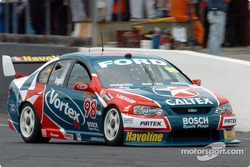 Russell Ingall into Turn 1