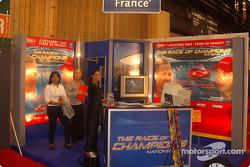 Stand at the Mondial de l'Auto