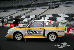 Audi S1 on display