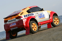 Mitsubishi Motors Repsol ATS Studios Team presentation: the Mitsubishi Pajero Montero Evolution