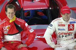 Two 2004 World Champion: Michael Schumacher in F1 and Sébastien Loeb in WRC