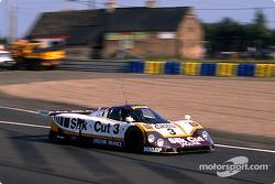 #3 Silk Cut Jaguar Jaguar XJR-9 LM: Davy Jones, Derek Daly, Jeff Kline