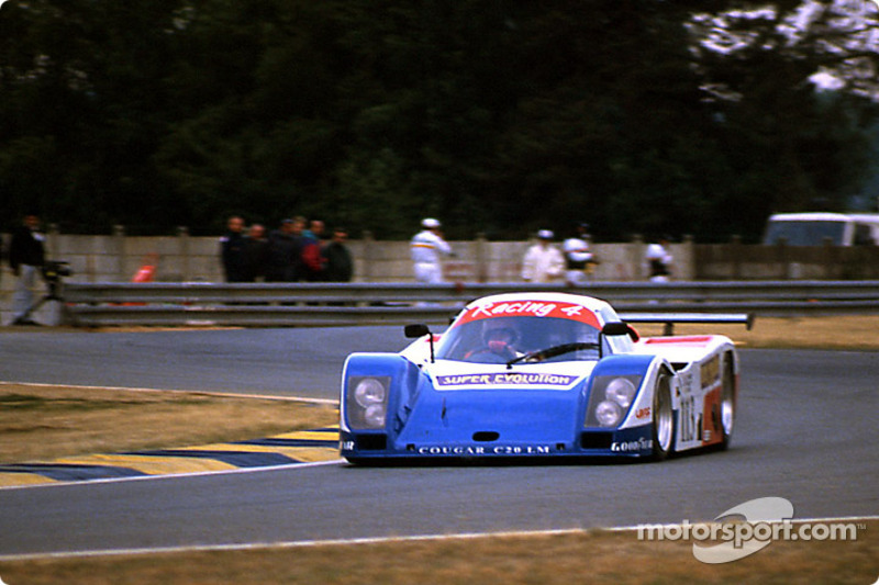 #113 Courage Competition Cougar C20LM Porsche: Jean-Claude Andruet, Philippe Farjon, Shunji Kasuya
