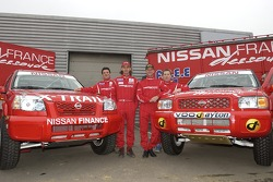 Nissan Dessoude team presentation: William Alcaraz, Paul Belmondo, Benoit Rousselot and Philippe de Weindel