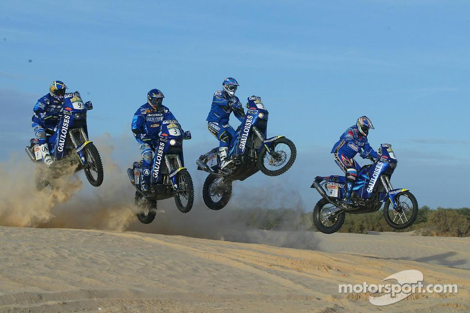 ktm team testing gauloises ktm riders cyril despres