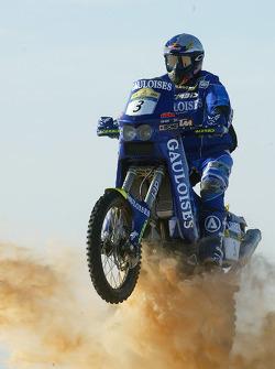 KTM team testing: Gauloises KTM rider Alfie Cox