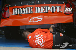 Home Depot Chevy crew member at work