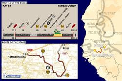 Stage 14: 2005-01-14, Kayes to Tambacounda