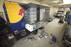 Volkswagen Motorsport's logistics in preparation for the Dakar