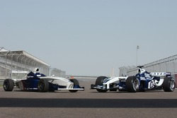 Formula BMW car with WilliamsF1 BMW FW26