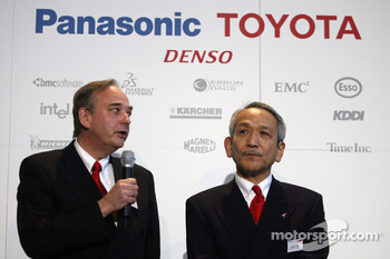 John Howett, President and Tsutomu Tomita, Chairman and Team Principal