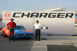 Dodge presentation: Richard Petty and his 1970s-era Dodge Charger
