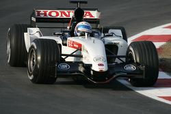 Anthony Davidson tests the new BAR Honda 007