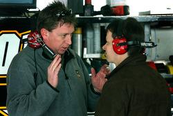 Crew chief Robin Pemberton