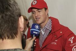 Ralf Schumacher talks to German TV station WDR