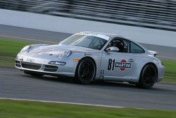 #81 Synergy Racing Porsche 997: Brent Martini, Kelly Collins
