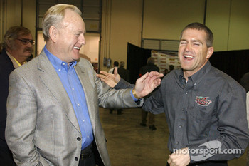 Joe Gibbs Racing: Lowe's Motor Speedway president Humpy Wheeler and Bobby Labonte
