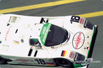 #18 Joest Porsche Racing Porsche 962C: Bob Wollek, Henri Pescarolo, Ronny Meixner