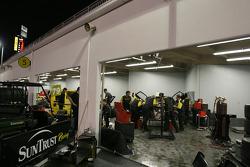 SunTrust Racing garage area