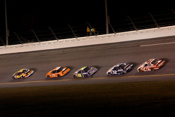 Greg Biffle, Tony Stewart, Jimmie Johnson, Ryan Newman and Casey Mears