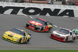 Kyle Busch, Jamie McMurray and Dale Earnhardt Jr.