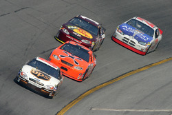 Dale Jarrett, Jeff Burton, Martin Truex Jr. and Mike Skinner
