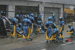 Pitstop practice at Renault