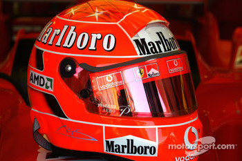 Helmet of Michael Schumacher