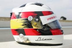 Helmet of Borja Garcia