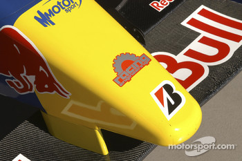 Detail of the Arden International GP2 car