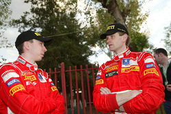 Markko Martin and Marcus Gronholm