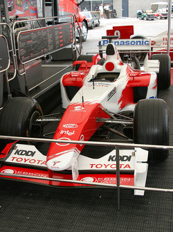Toyota F1 car on display
