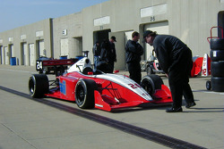 Jeff Simmons set the best time of the day in the #24 ISI car