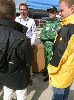 Allan McNish, David Brabham and Jan Magnussen
