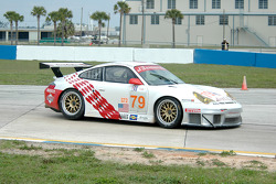 #79 J3 Racing Porsche 911 GT3 RSR: Justin Jackson, Tim Sugden